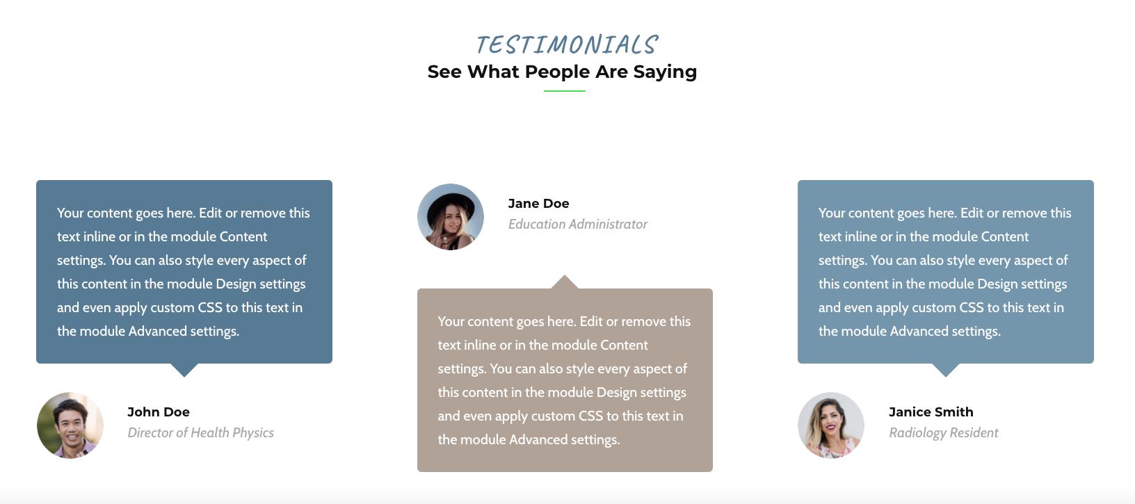 website design social proof