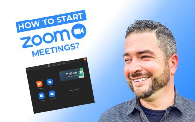 How to Start Effective Zoom Meetings?
