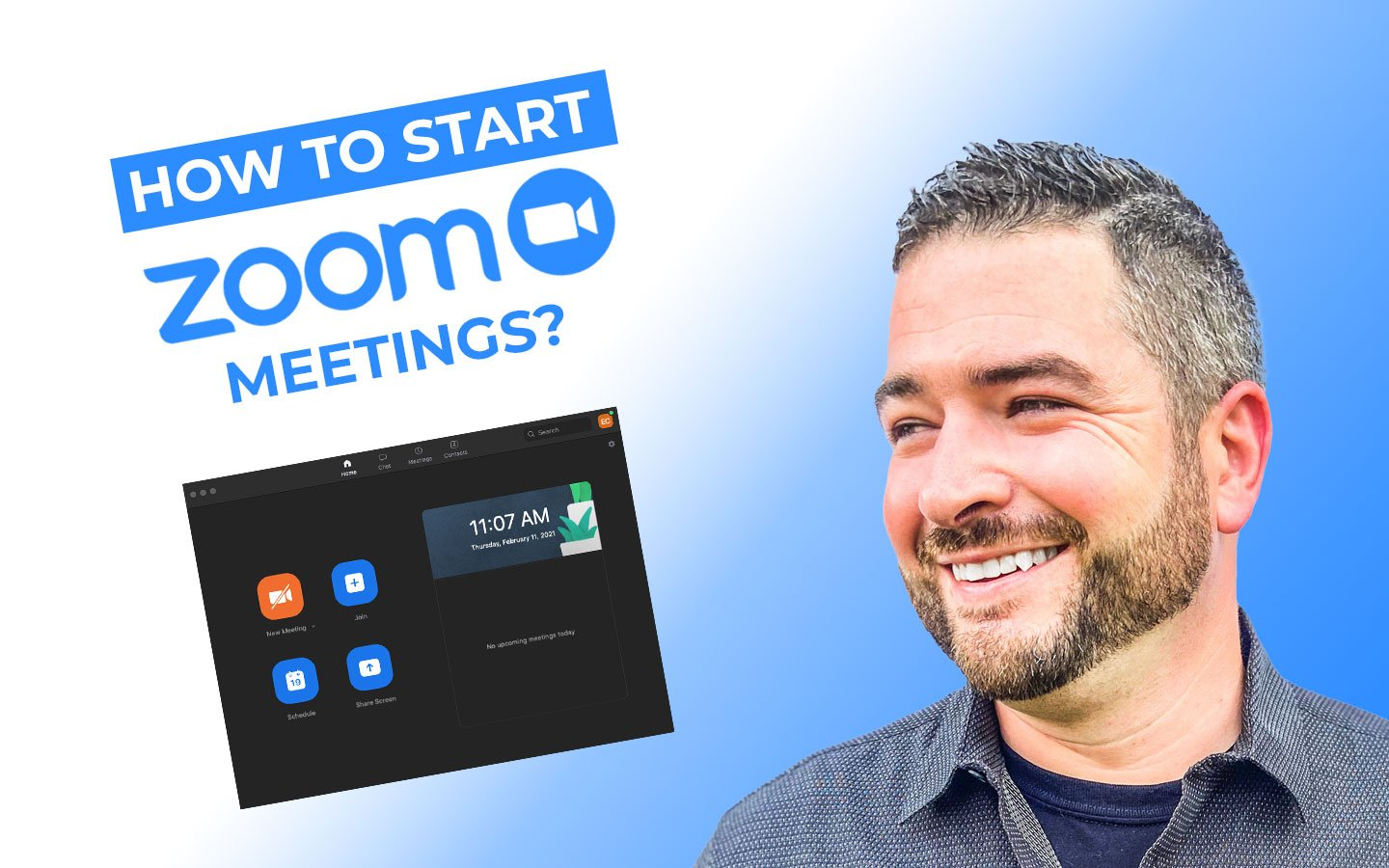 How to Start Zoom Meetings