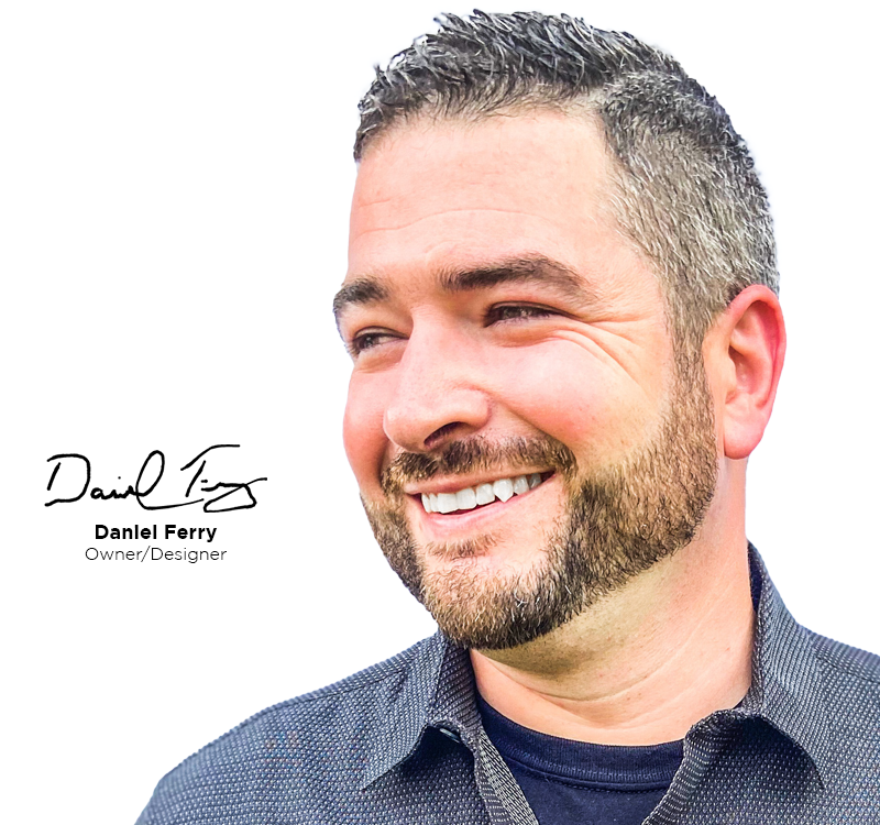 Danny Headshot & Signature